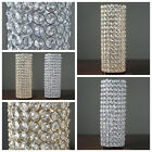 "4 pcs 16"" tall Faux Crystal Beaded Candle Holder Centerpiece Wedding WHOLESALE"