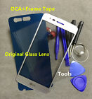 Front Glass Screen Replacement for LG Aristo K8 2017 LV3 MS210 +OCA+Frame Tape