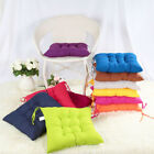 2/4/6/8/10X Seat Chair Pad Cushion With Tie On Chunky Home Desk Room Kitchen