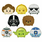 TSUM TSUM STAR WARS * Machine Applique Embroidery Patterns * 8 designs, 4 sizes $8.5 AUD