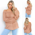 New Women Long Sleeve Knitted Sweater Tops Loose Cardigan Outwear Coat Oversized