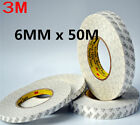 3M Double Side SUPER STICK HEAVY ADHESIVE For Repair Cell Phone 6mm x 50M ^