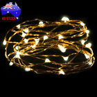 2M 20LED Button Cell Battery Powered Copper Wire Mini Fairy String Lights Xmas