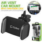 Air Vent Smartphone Car Mount with 360 Degree Rotation & Tightening Knob