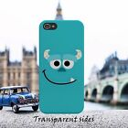 Monster Inc Animation Sulley Face Phone Case Cover For iPhone Samsung model