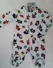 DC SUPERHEROES SCRIBBLENAUTS licensed romper all-in-one coverall NEW sz 000-1