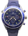 Luxury New James Bond 007 Skyfall Automatic Mechanical Watch Blue Rubber Watches $49.14 CAD