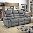LOTHIAN Fully-Reclining LazyBoy Leather Recliner Sofa 3 + 2 Seater + Armchair