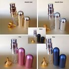 5ml Refillable Travel Glass Bottle Perfume Aftershave Atomiser Pump +FREE FUNNEL