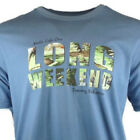 "TOMMY BAHAMA Men's T-Shirt ""Life Is One Long Weekend"" 100% Cotton SIZE: X-LARGE image"
