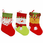 Chrismas Decorations snowman santa claus elk socks gift candy bags