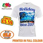 Personalised T-shirt Custom Photo Your Image Txt Here Printed Stag Hen Party Tee