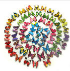12pcs 3D Butterfly Decal Art Wall Stickers Room