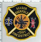 Mason Deerfield Joint Fire District (Ohio) Shoulder Patch from the mid 1990's
