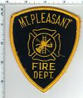 Mt. Pleasant Fire Dept (South Carolina) Uniform Take-Off Shoulder Patch 1980's