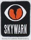 SKYWARN EMBROIDERED PATCH EMBROIDERY Danny & LuAnns Embroidery Ham Radio Amateur
