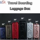 pc abs - PC ABS Carry on Rolling Spinner Wheeled Travel Bag Trolley Suitcase Luggage Lock