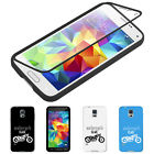 KD_ Motorcycle Touch Screen Flip Full Cover Case for iPhone 6S Samsung S6 S7 U