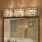 LED Crystal Wall Light Lampshade Bathroom Mirror Lamp Lighting Fixtures Modern