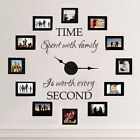 Time Spend With Family Wall Sticker Inspired Quote Vinyl Living Room Art Decor