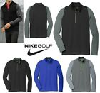 MEN'S NIKE, DRI FIT, STRETCH ,1/2 ZIP, PULLOVER, WICKING, LONG SLEEVE, XS-4XL