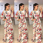 Women Long Formal Prom Dress Cocktail Party Ball Gown Evening BOHO Dress S-XL