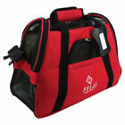 Pet Carrier Cat Dog Airline Approved Fleece Bag Small Red Blue