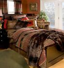 Bear Country Cabin Rustic Comforter Set with FREE Sheets and Shipping!