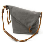 Unisex Crossbody Bag Messenger Bag Casual Canvas Hobo Bag Shouder Bag