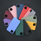 Genuine Soft Silicone Case Cover for Apple iPhone 11 12 Pro Max X XR XS 7 8 Plus