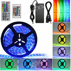6 Colors 5M 3528/5050 SMD 300 LED Strip Light Waterproof Flexible Remote Adapter