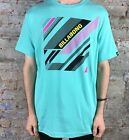 Billabong High Energy Slim Fit Short Sleeve T-Shirt in Teal Size S,L