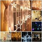 138 LED String Star Fairy Lights Twinkle Lamp Xmas Party Wedding Garden Display