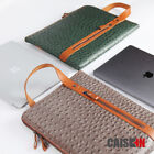 "13.3"" Leather Laptop Carrying Bag Sleeve Case for MacBook Pro 13 MacBook Air 13"