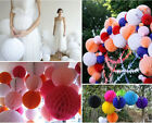 6/8/10inch Honeycomb Poms Paper Tissue Ball Drop Hanging Wedding Party Birthday