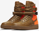 Nike Special Field Air Force 1 Hi Sf-af Desert Ochre 903270-778 Authentic 8~13
