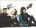 LONDON GRAMMAR BAND SIGNED AUTHENTIC 8X10 PHOTO w/COA BRITISH INDIE POP GROUP X3