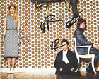 LONDON GRAMMAR BAND SIGNED AUTHENTIC 8X10 PHOTO B COA BRITISH INDIE POP GROUP X3