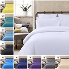 5* 400 THREAD COUNT 100% EGYPTIAN COTTON DUVET/QUILT COVER BEDDING SET ALL SIZES image