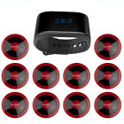 EZISERV wireless call bell, pager system, wireless digital watch PACKAGE