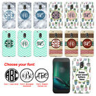 For Motorola Moto G4 Play XT1607 Custom Personalized Monogram Letters Case Cover