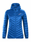 Berghaus Womens Tephra Stretch Down Winter Walking Hiking Jacket in Galaxy Blue