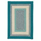 Montego Indoor Outdoor Rectangle Rug, Oceanic ~ Made in USA