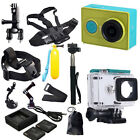XiaoMi Yi WIFI Sports Actioncam Camera+ Full Accessories Kit +Charger+Battery
