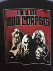 House of 1000 corpses T-Shirt rob zombie sheri moon capt spaulding