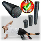 "Foam Roller Exercise 12/18/36"" Extra Firm High Density Tissue Muscle Massage image"