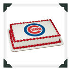 Chicago Cubs MLB Edible Image Cake Topper Photo Icing Frosting Sheet