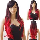 Women Costume Wig Long Curly Wavy Full Head Wig Synthetic Hair Cosplay Partry t8
