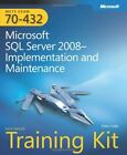 MCTS SELF-PACED TRAINING KIT EXAM 70-432 MICROSOFT SQL SERVER By Hotek Mike Mint