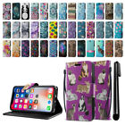 "For Apple iPhone X 5.8"" ID Card Leather Flip Wallet Cover Pouch Case Stand + Pen"